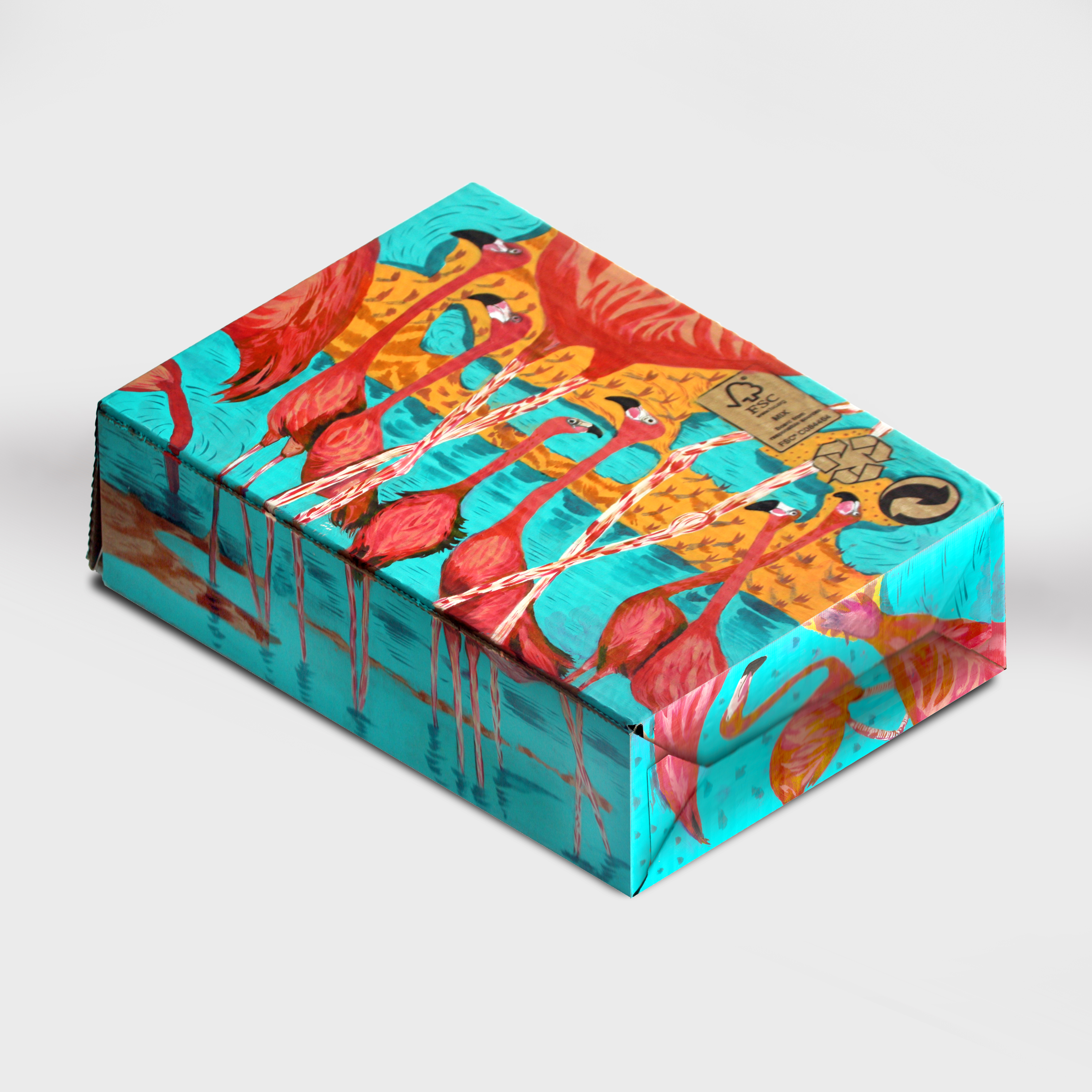 Flamingoes Boxes